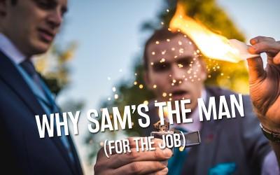 10 Reasons to Book Sam