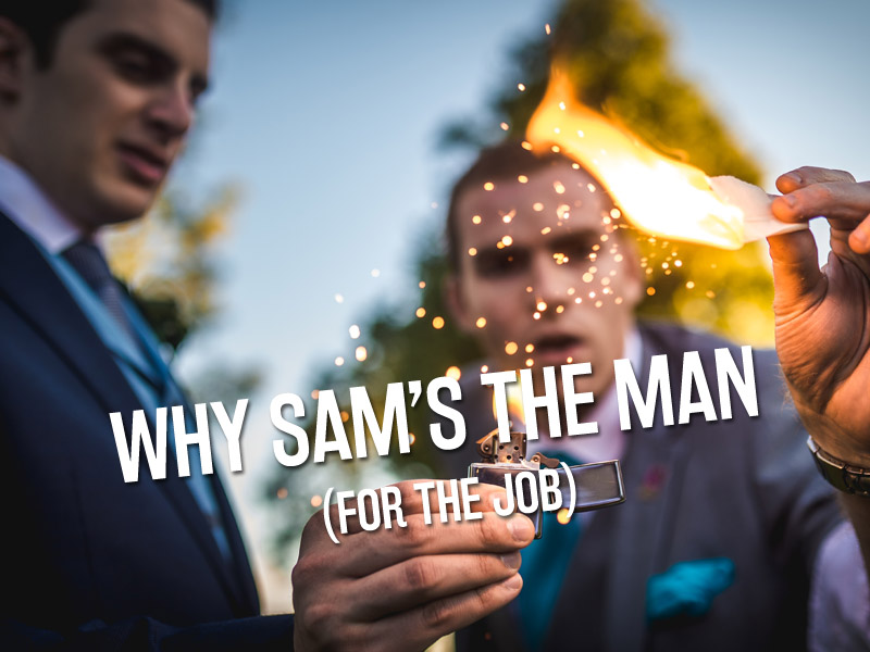 10 Reasons to Book Sam