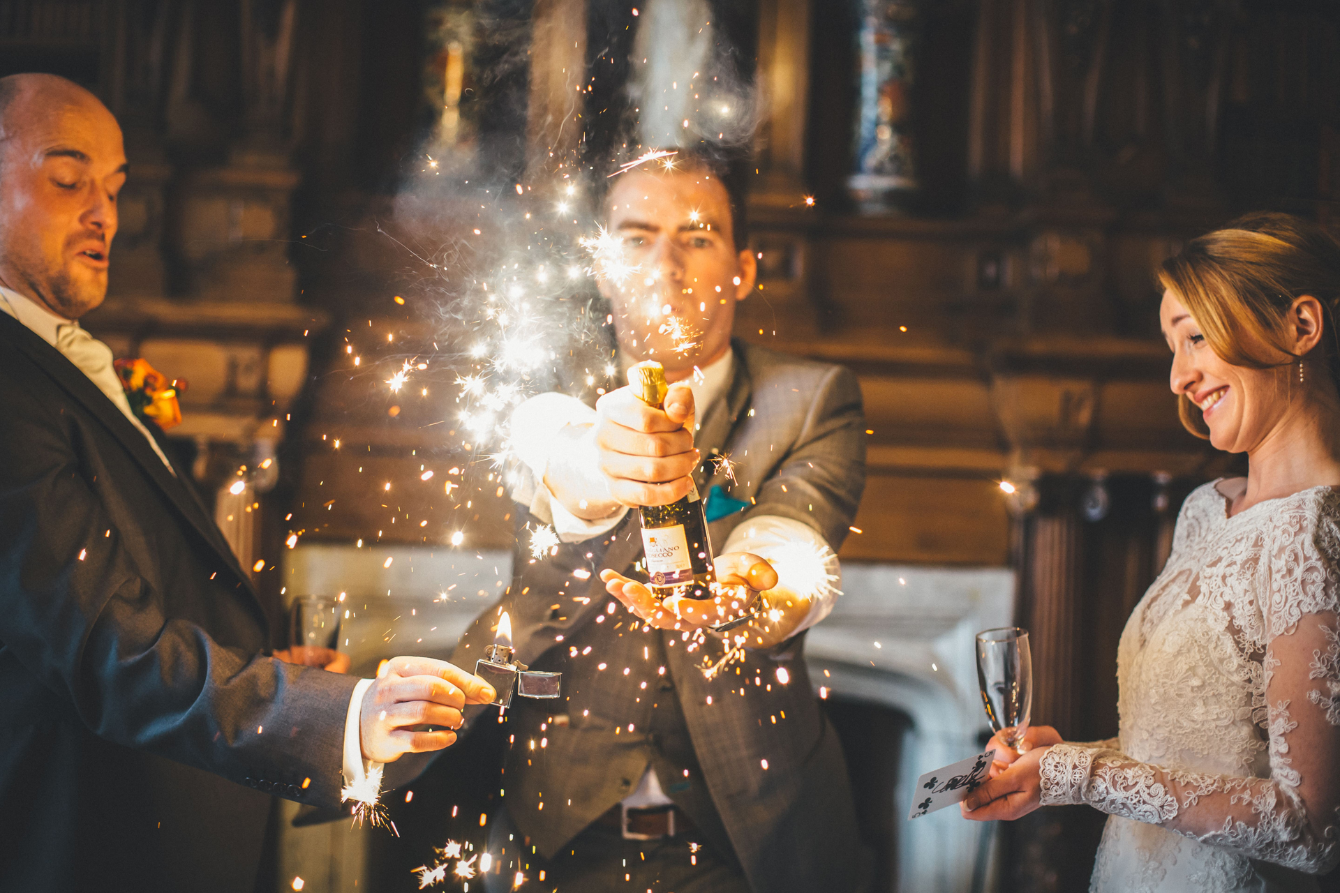 wedding tips manchester wedding magician sam fitton save the date amoretto weddings