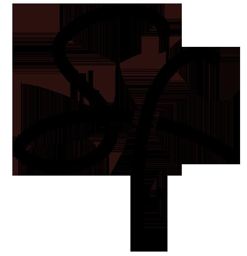 black sig signature initials 500px